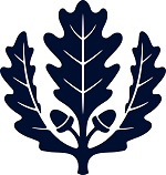 Blue Oak Leaf