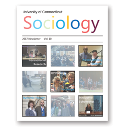 cover of 2017 sociology newsletter
