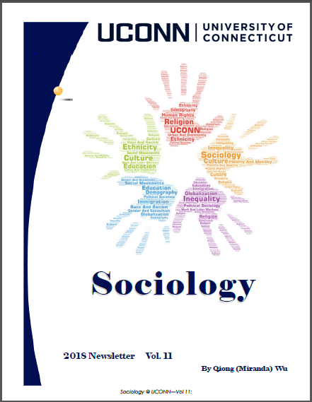 cover of 2018 sociology newsletter
