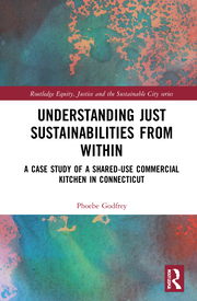 """Cover of """"Understanding Just Sustainabilities from Within"""" by Phoebe Godfrey."""